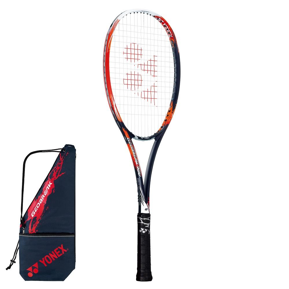YONEX ヨネックス ソフトテニスラケット GEOBREAK 70V(ジオブレイク70V)GEO70V 816:クラッシュレッド 後衛タイプ