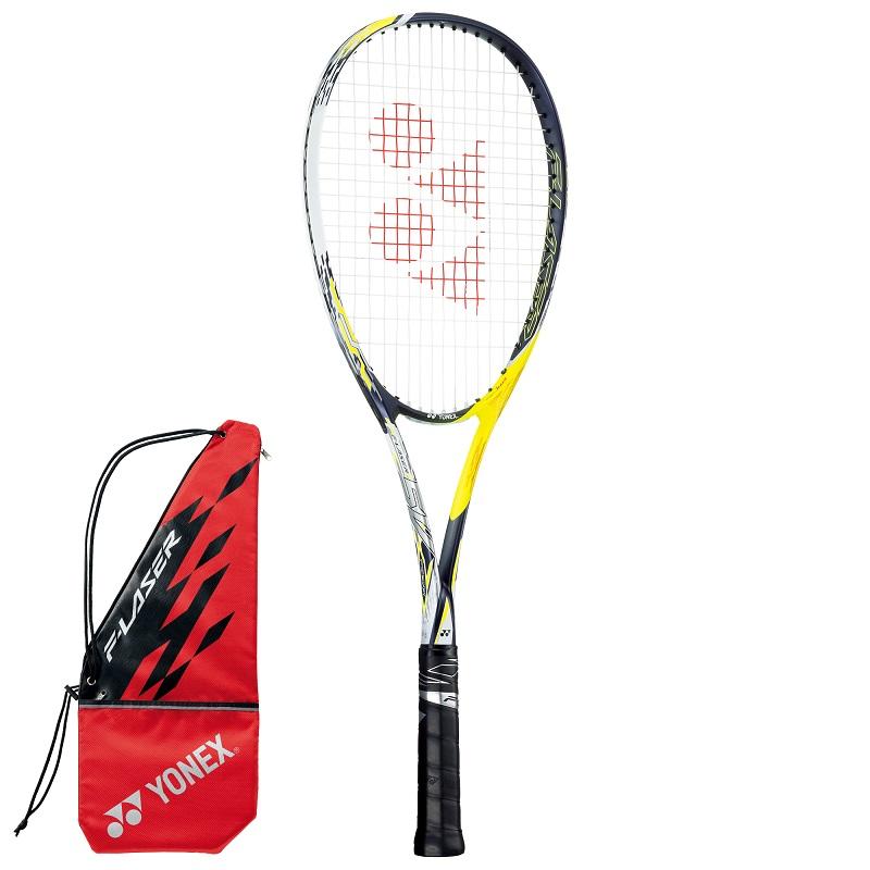 前衛タイプ YONEX 現金特価 世界の人気ブランド ソフトテニスラケット F-LASER FLR5V エフレーザー5V 711:レーザーイエロー 5V