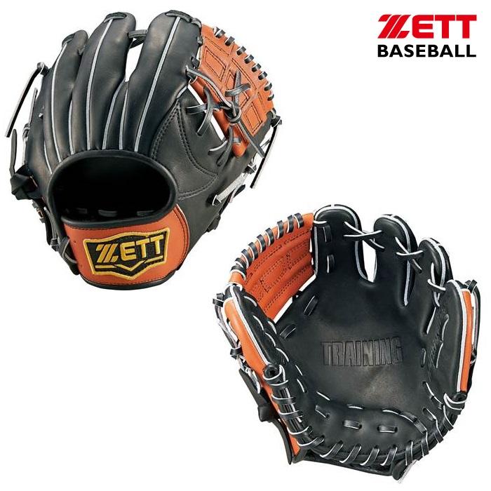 ZETT ゼット 硬式用 トレーニンググラブ 限定商品 BPGB17010(1935:ブラック×ウッディブラウン)