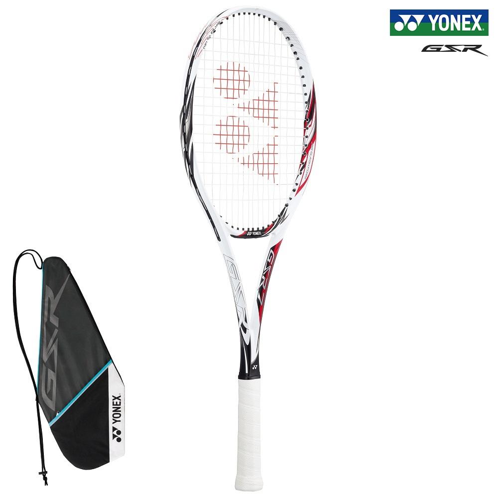 オールラウンドタイプ YONEX ヨネックス お気にいる ソフトテニスラケット ジーエスアール7 GSR7 往復送料無料 114:ホワイト レッド