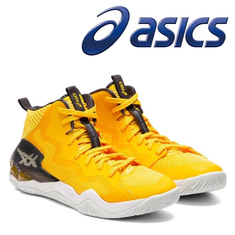 asics アシックス バスケットシューズ NOVA SURGE 1061A027-750 SAFFRON/GRAPHITE GREY