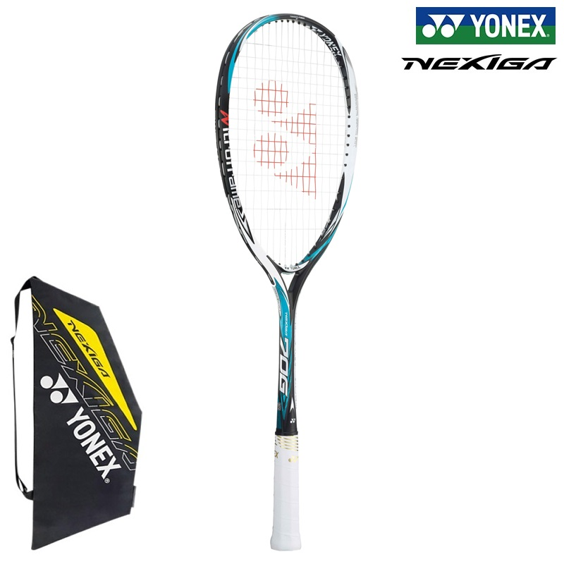 YONEX ソフトテニスラケット NEXIGA70G ネクシーガ70G(NXG70G)449:セルリアンブルー 後衛専用タイプ