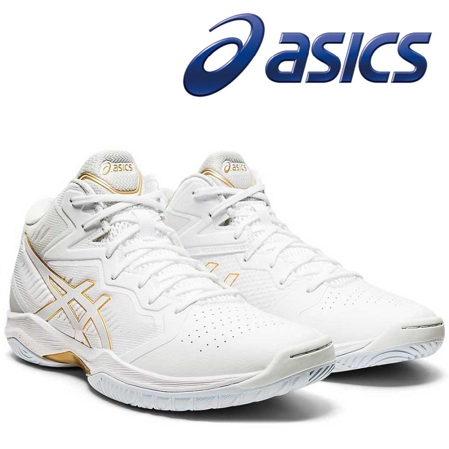レギュラーラスト asics アシックス バスケットシューズ GELHOOP 105:WHITE 国内正規総代理店アイテム 1063A021 V12 お気に入り WHITE