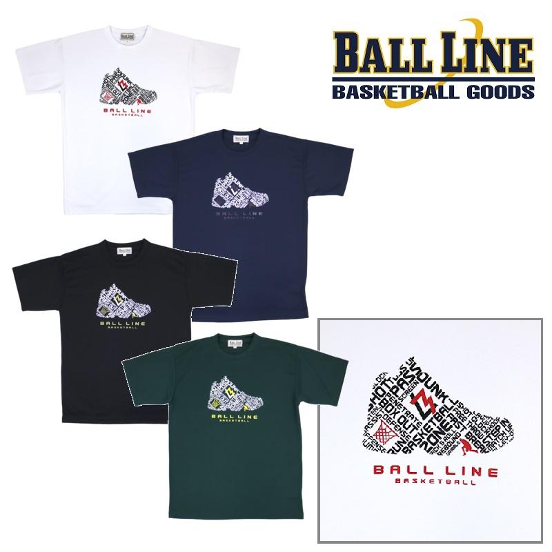 2021春夏NEWモデル オンザコート ボールライン バスケット 別倉庫からの配送 シューズシルエット BT1334 Tシャツ ファッション通販