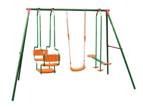 お得なセット価格で公園のようなお庭に 大型屋外遊具:マルチスイングセット:お子様にどうぞ ブランコ 信用 シーソー 庭 遊具 セット 激安 ステイホーム キッズ 大型遊具 DIY 屋外 子供