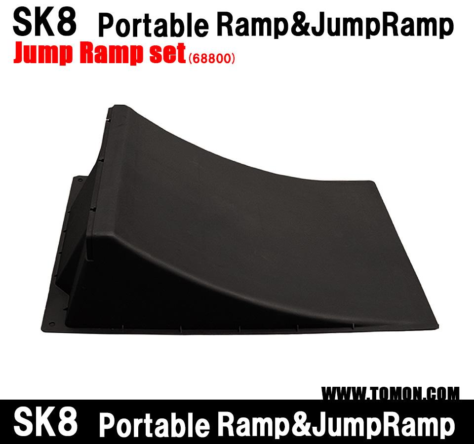 スケボー ランプ スケートボード ランプ ジャンプ台×1 BMX ラジコン インラインスケート ジャンプ台 ランプ&レール クォーターランプ デッキ ウィールランプセット:Full fly box set(68800)