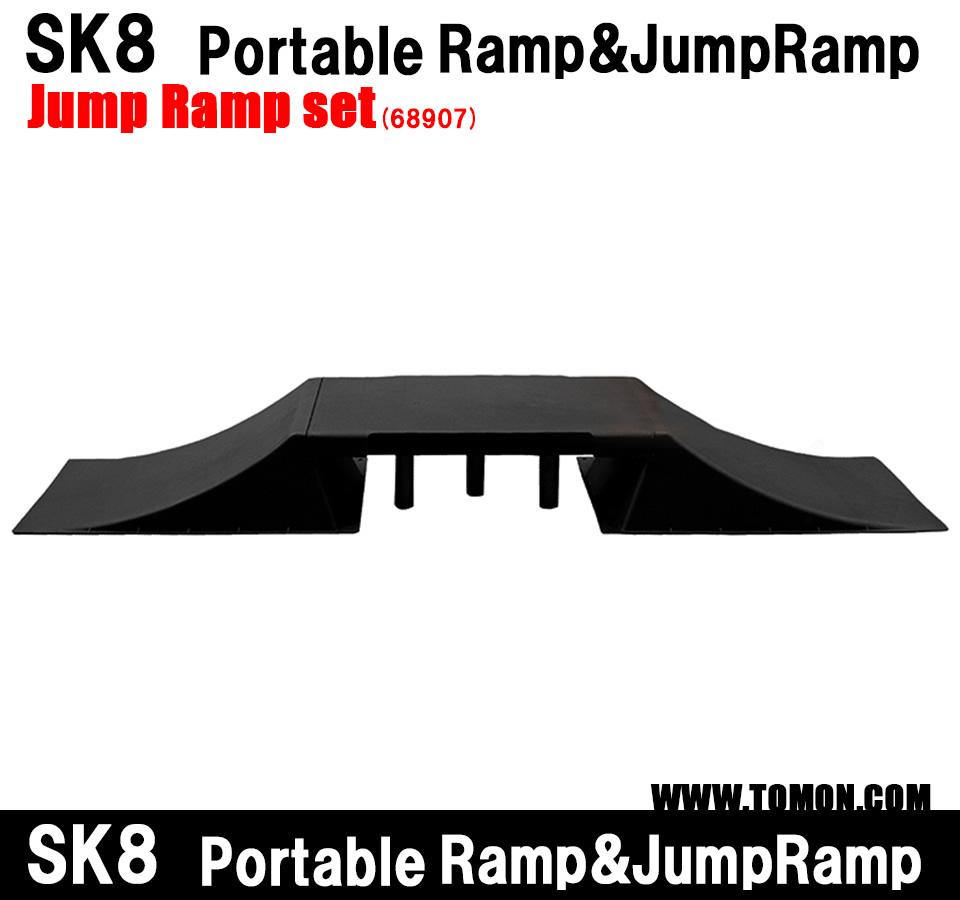 スケボー ランプ スケートボード ランプ ジャンプ台×2 天板×1 BMX ラジコン インラインスケート ジャンプ台 ランプ&レール クォーターランプ デッキ ウィールランプセット:ストライダー ランニングバイク(68907)