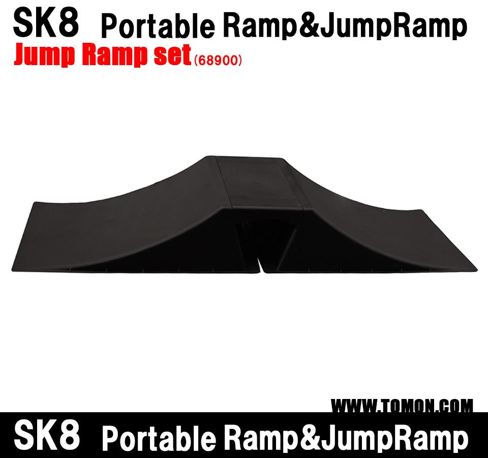 スケボー ランプ スケートボード ランプ ジャンプ台×2 天板×1 BMX ラジコン インラインスケート ジャンプ台 ランプ&レール クォーターランプ デッキ ウィールランプセット:The real ramp set(68900)