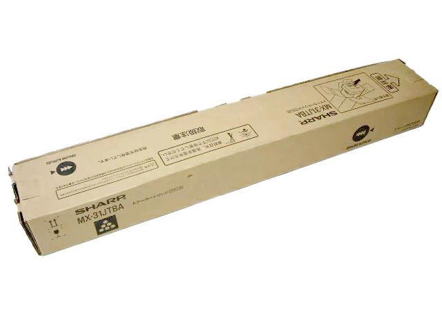 シャープMX-31JTBA ブラック 純正品■2016年製造 ■外箱若干汚れマジック書き込みあり【中古】