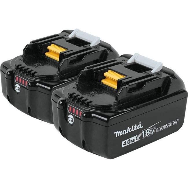 マキタ BL1840B バッテリー 18V 純正 2個セット/4.0Ah BL1830,BL1840B,BL1850,BL1860B 機種対応/リチウムイオンバッテリー/蓄電池