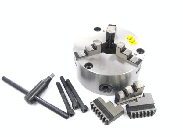 【福袋セール】 ≪送料無料≫VERTEX 3ツ爪スクロールチャック 5インチ 【VSC-5】:TOOL PARKS-DIY・工具