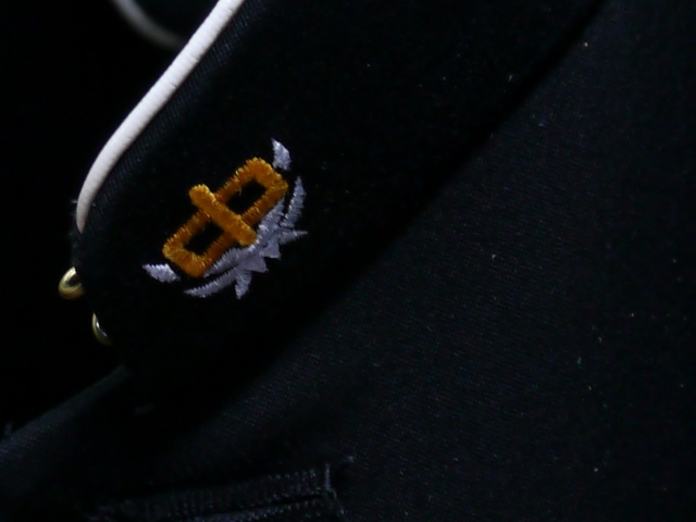 BBJ 마크 들어가고/주름/정크 처리 염가 2160 엔 균일! 학 란 학생복 헌 詰襟/라운드 컬러 표준형 학생복 검정 재킷 간단한 검색