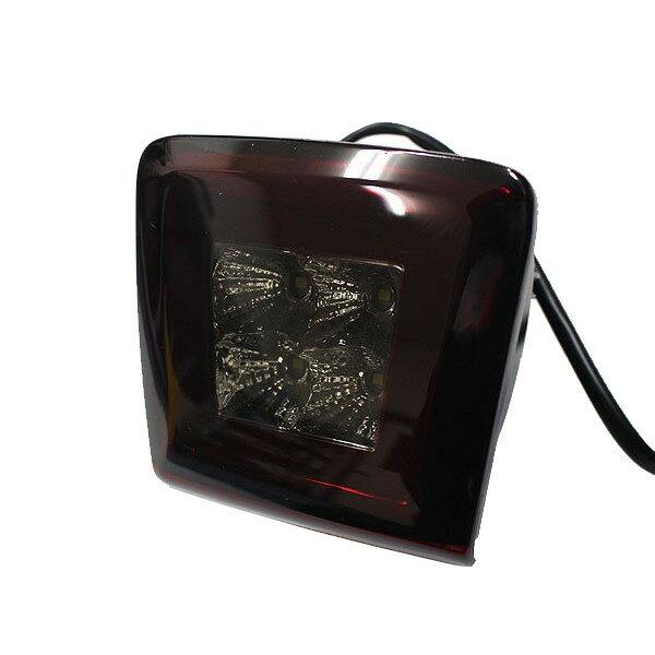 送料無料 Z34 フェアレディZ LED バックフォグ 日産 E12 ノート K13 マーチ ニスモ 流用可能 NISMO レッド スモークレンズ リア フォグランプ 4発 LED