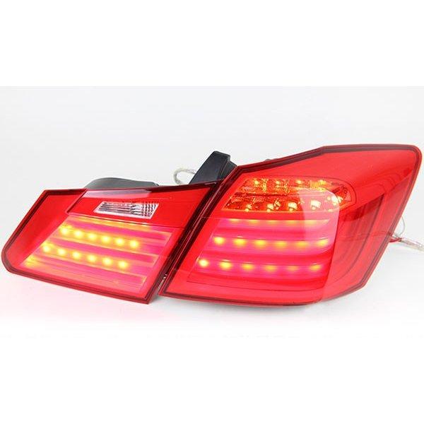 送料無料 アコード ハイブリッド CR5 CR6 ファイバー LED テールランプ