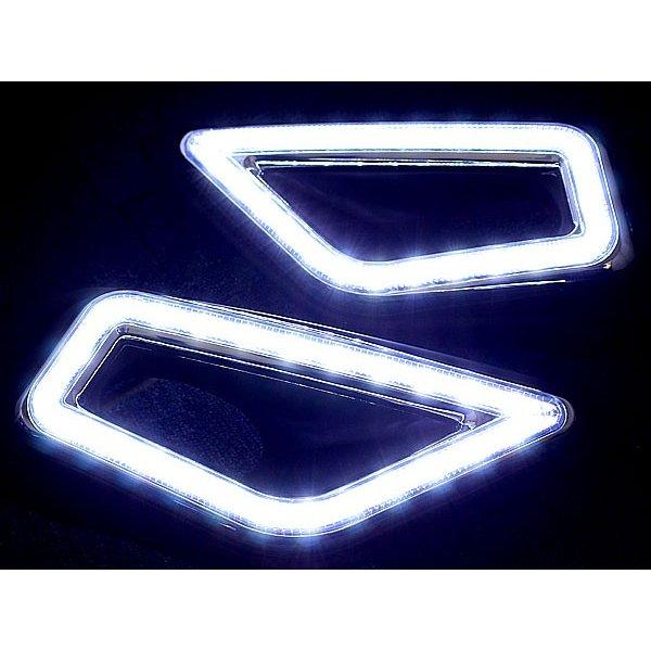 제이드 LED 데이 라이트 러닝 라이트 좌우 세트 HONDA JADE 안개 등 커버 베젤 VEZEL 포지션 LED 데이 라이트 혼다 제이드