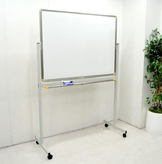 【新品】脚付きホワイトボード 片面 900×1200 WBK-34【新品商品】