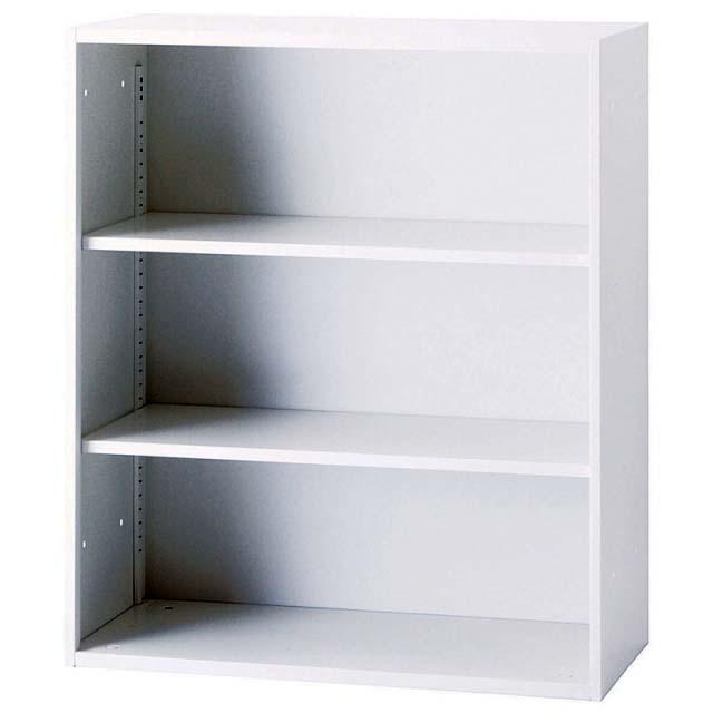 【代引き不可】井上金庫 オープン書庫 H1050 ミルクホワイト 上置き・下置き可 IC-0910F【新品商品】