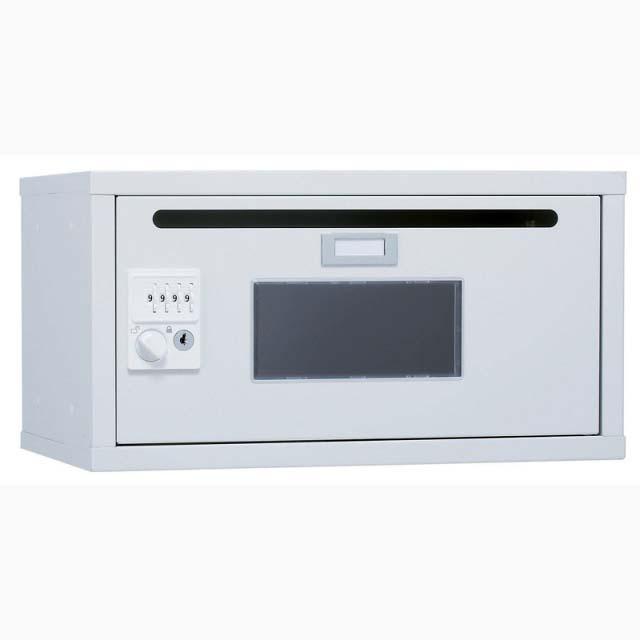 【代引き不可】井上金庫 フレキシブルBOX 窓付きコンセント無 W450 IC-SKB-01