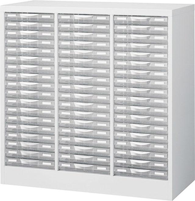 生興 B4判床置型整理ケース 3列浅型18段 H880 B4W-P318S【新品商品】