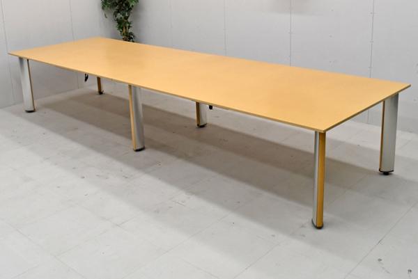 【難有商品】【特価品】コクヨ WT-150シリーズ 木製大型会議テーブル W4000 2016122903【中古オフィス家具】【中古】