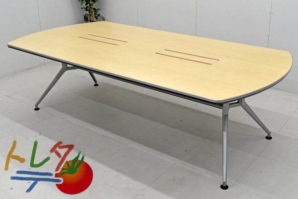 公式の  イトーキ 大型会議テーブルDDシリーズ 120°脚 W2400 両アール型 イトーキ W2400 2017040101 120°脚【中古オフィス家具】【中古】, あっさり漬食品:f2b8bbae --- canoncity.azurewebsites.net