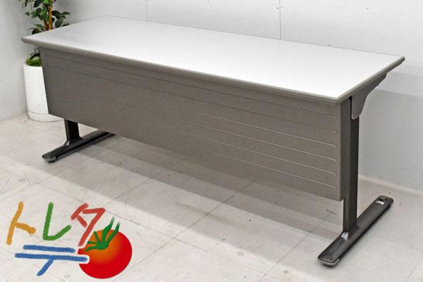 オカムラ スタックテーブル W1800 2017081706【中古オフィス家具】【中古】