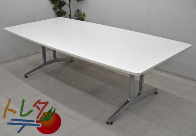 コクヨ WTシリーズ 会議テーブル W2400 2020031705【中古オフィス家具】【中古】