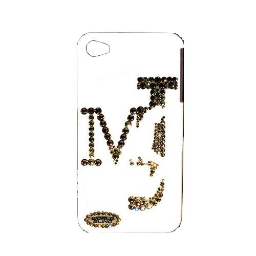 【スワロフスキー使用】MJオフィシャルライセンス認定iPhone6用(4.7インチ)ケース「Black or White」モデル【ホワイト】【マイケル・ジャクソン】
