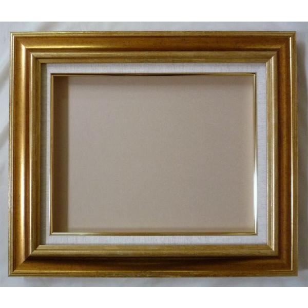 油絵用 額縁 (アート フレーム) NH-8117 F20 (P20.M20) ゴールド 新品