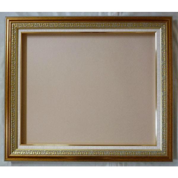 油彩額 油絵用額縁 クロノス F50 P50 M50 金 ゴールド -新品