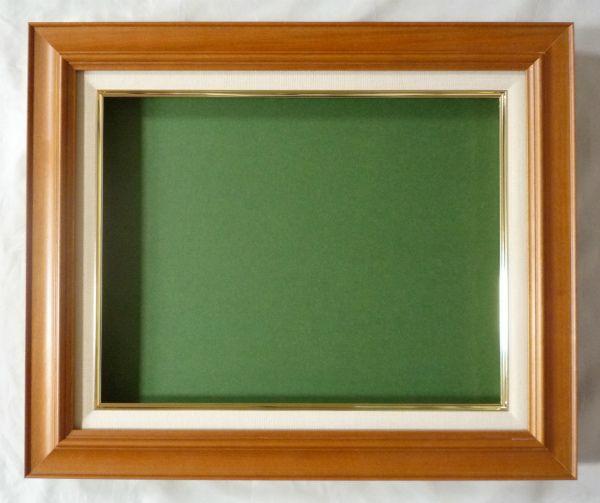 油絵 油彩額縁 7720 F15 チーク (アートフレーム)-新品