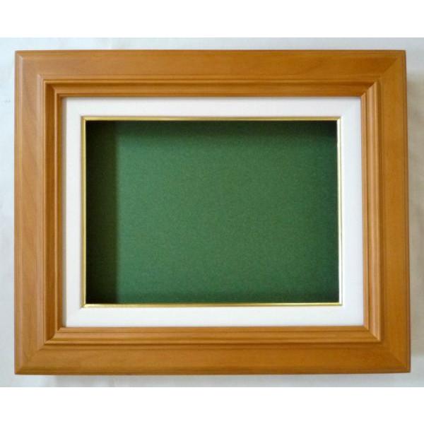油絵 油彩額縁 ( 克平 ) F15 (P15,M15) 木地 アートフレーム -新品