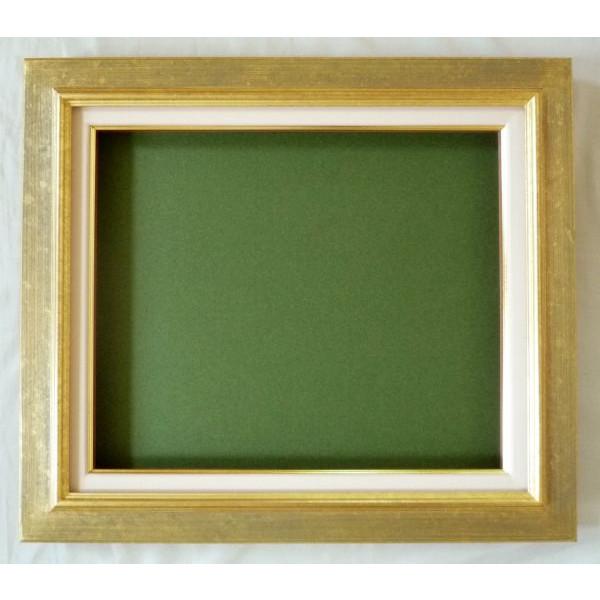 油彩額 油絵用額縁 レインボー F15 (P15,M15) 金 -新品