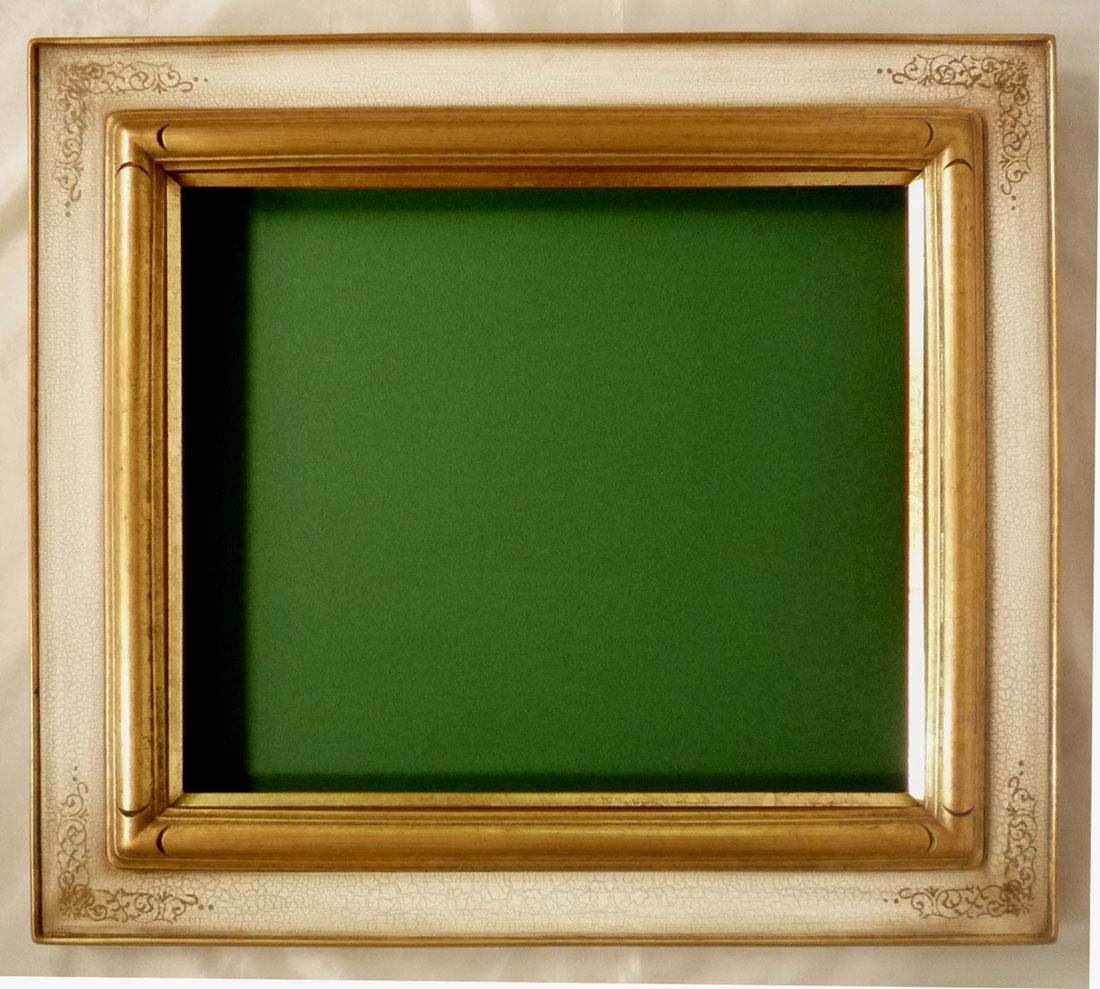 油彩額 油絵用額縁 7707 F20 アンティークアイボリー (アートフレーム)-新品