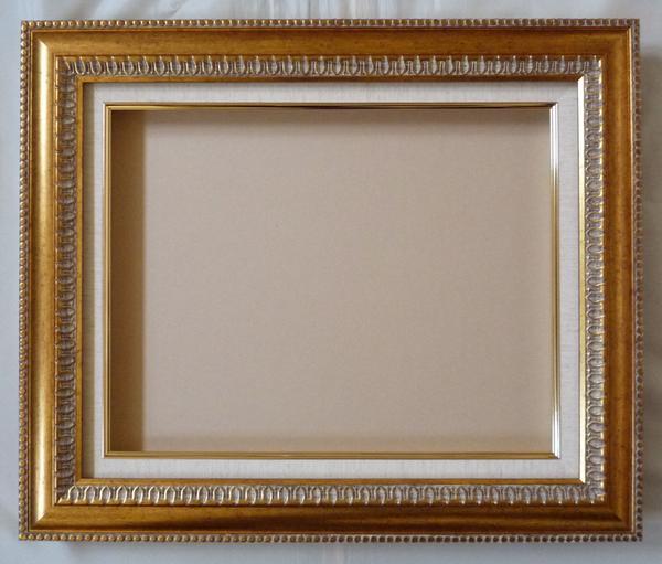 油彩 油絵用額縁 ダール 9805 F30 (P30,M30) ゴールド-新品