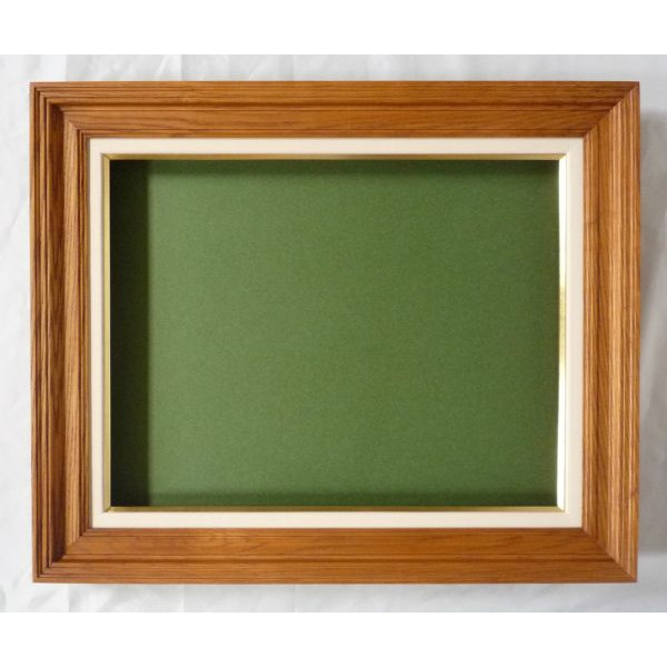 油彩額 油絵用額縁 角廊 F20 (P20,M20) 木地 -新品