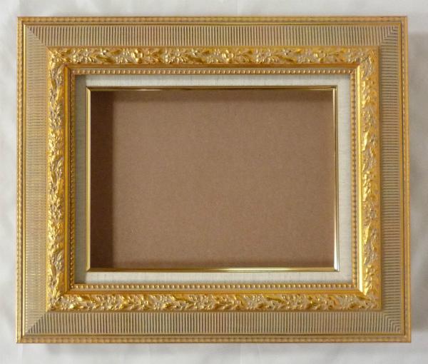 油彩額 油絵用額縁 キブカ F25 P25 M25 金 ゴールド -新品