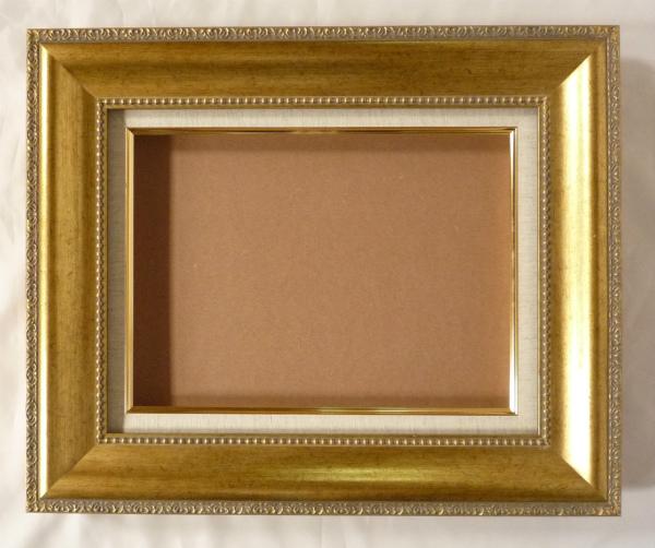 油彩額 油絵用額縁 シオン F40 P40 M40 金 ゴールド -新品