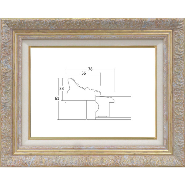 auc-touo | Rakuten Global Market: Picture frames for oil painting ...
