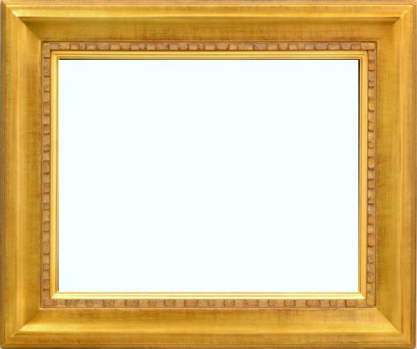 油彩額 油絵用額縁 7100 F4 金 ゴールド -新品