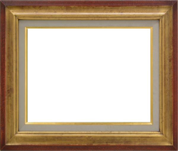 油彩額 油絵用額縁 7740 F20 金 ゴールド -新品