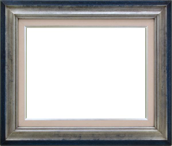 油彩額 油絵用額縁 7740 F20 銀 シルバー -新品
