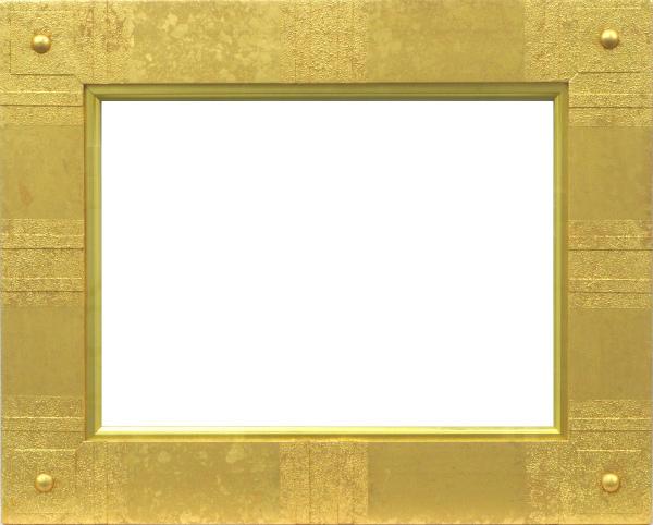 油彩額 油絵用額縁 6259 F4 ゴールド 金 -新品