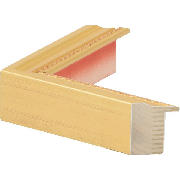 油絵用 木製額縁 仮縁 7300 F60 ゴールド 金 -新品