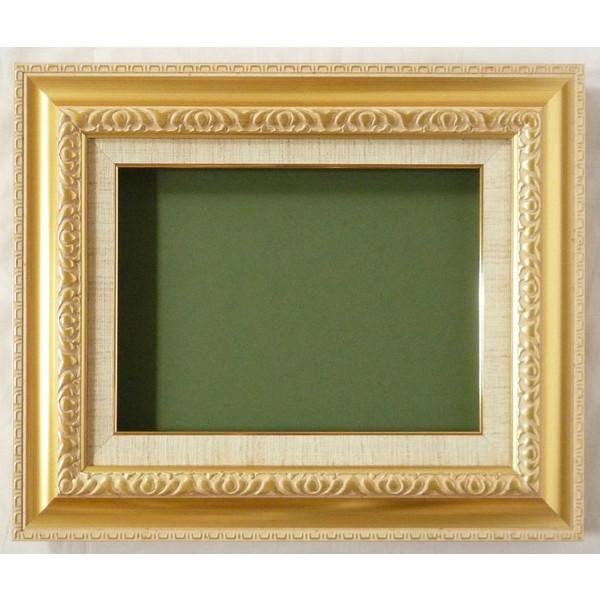 油絵用 額縁(アート フレーム) MJ105 M30 ゴールド 新品-特価品