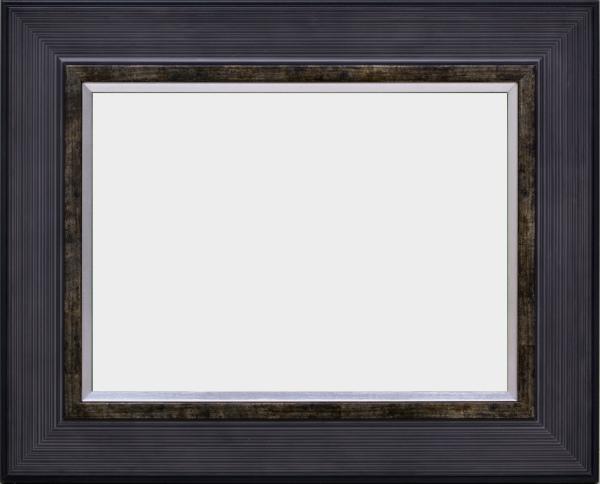 油彩額 油絵用額縁 3490 F20 チャコール -新品