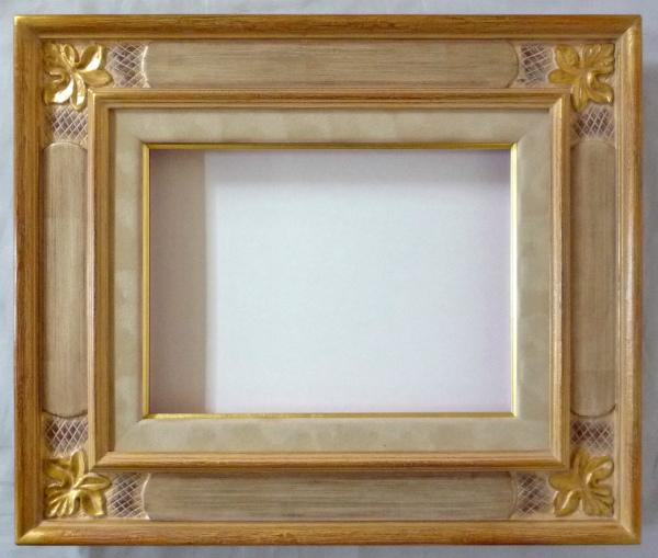 油彩額 油絵用額縁 メープル F50 金 銀 -新品 人気セール,定番人気