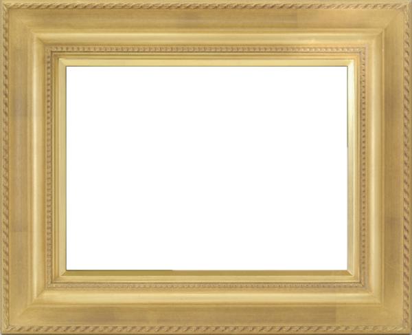 油彩額 油絵用額縁 7746 F20 ゴールド 金 -新品