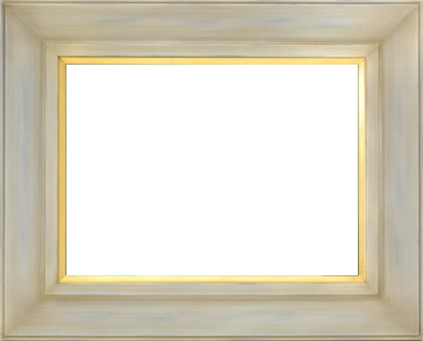 油彩額 油絵用額縁 7744 F8 アンティークアイボリー -新品
