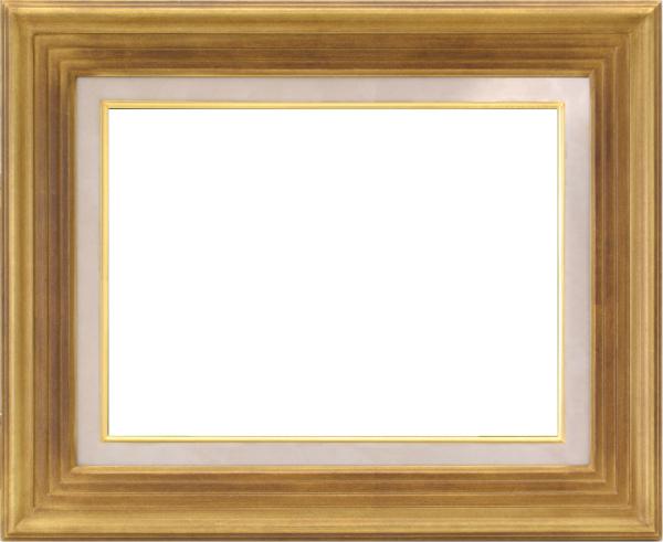 油彩額 油絵用額縁 7745 F10 ゴールド 金 -新品